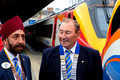 East Midlands Trains and Lions Club 100 dedication