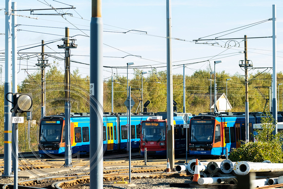399204 399207 109 Nunnery Supertram depot Tram Train Launch 25102018 - DSCF7136