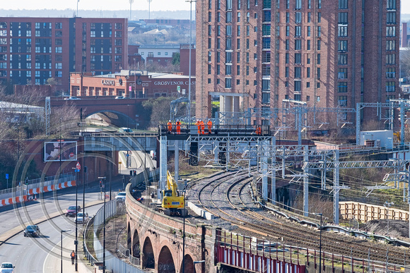 Ordsall Chord looking SW 23022016 1