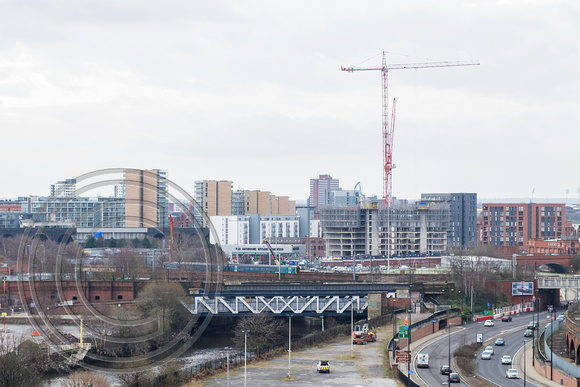 Ordsall Chord looking SW 25012016 2