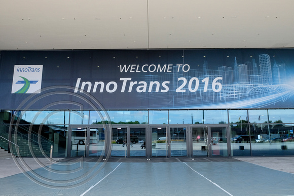 Visit to InnoTrans 2016