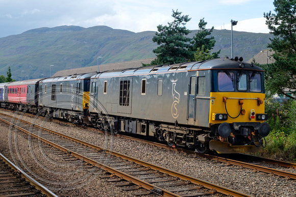73967 Fort William Station Sidings 30082016